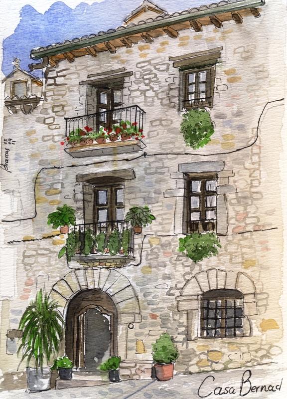 El sobrarbe huesca las cosas que me hacen feliz p gina 2 - Fotos de casas para dibujar ...